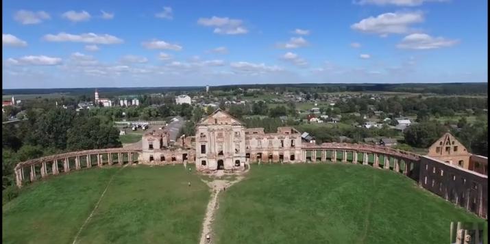 2 новыя відэаролікі пра Ружанскі палац