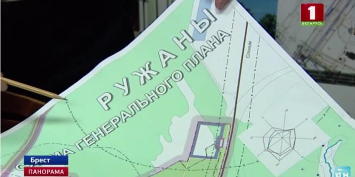 В Ружанах жители одного из домов выступают против уплотнения застройки.