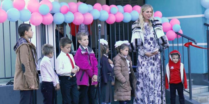 Церемония открытия детского дома семейного типа (Видео)
