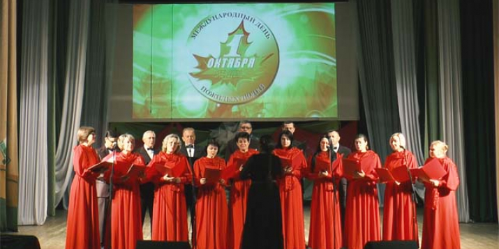 Сила и мощь голоса: на сцене Народный Камерный Хор Пружан