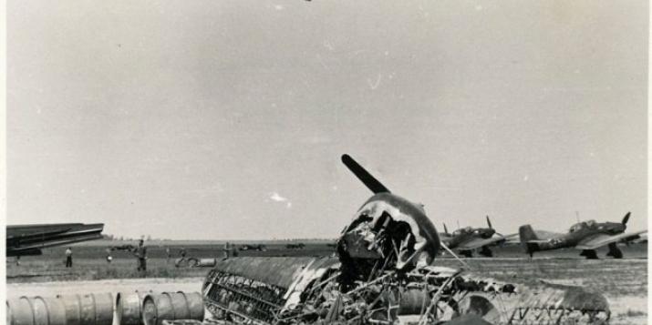 Найдено фото останков самолёта Гудимова, совершившего таран 22 июня 1941г.?