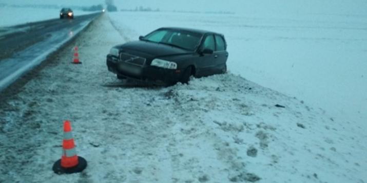 ПРУЖАНСКИЙ РАЙОН: в результате ДТП пострадала пассажир автомобиля