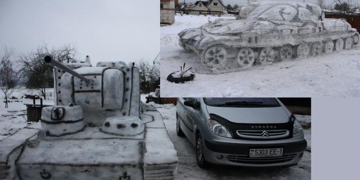 Какой танк вам больше нравится: из-под Пружан или из-под Гомеля?