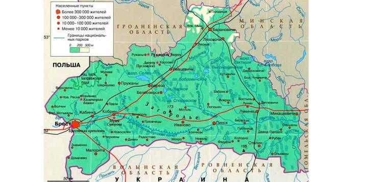 Границы Брестской, Гродненской и Минской областей изменят, это затронет земельные участки людей