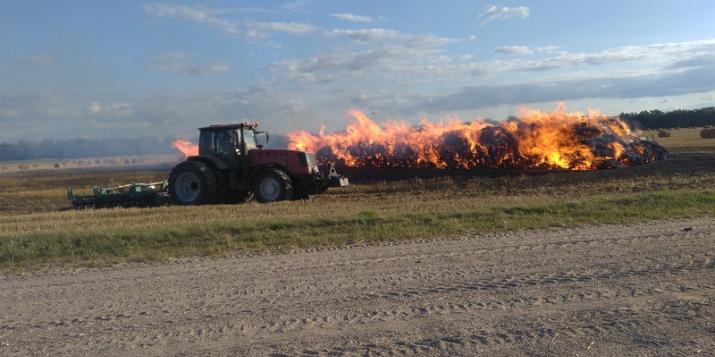 В ОАО «Пружанское» произошло сразу два пожара