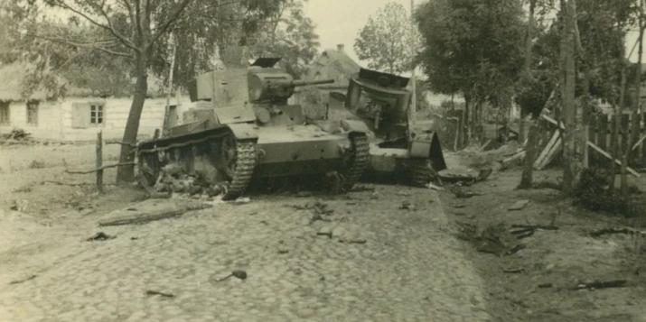 История про танковый ад под Пружанами 22 июня 1941: в итоге из 500 танков в строю осталось только 2
