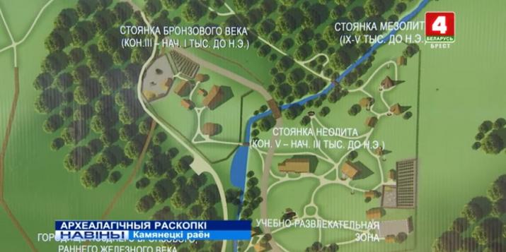 Археалагічныя раскопкі ў Белавежскай пушчы(відэа)