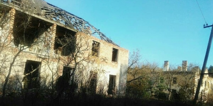 Фото заброшенного посёлка Юбилейный(Пружанский район), точнее того, что от него осталось