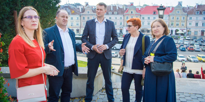 18-19 октября 2019 г. делегация Пружанского района съездила в Польшу для установления сотрудничества