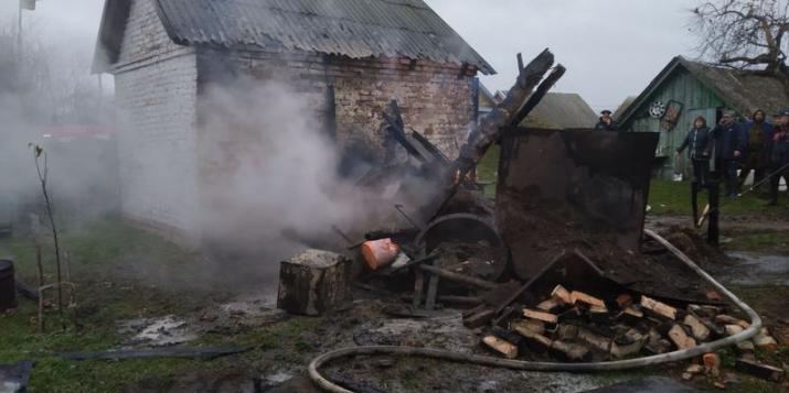 За прошедшие сутки на территории  Пружанского района произошло два пожара