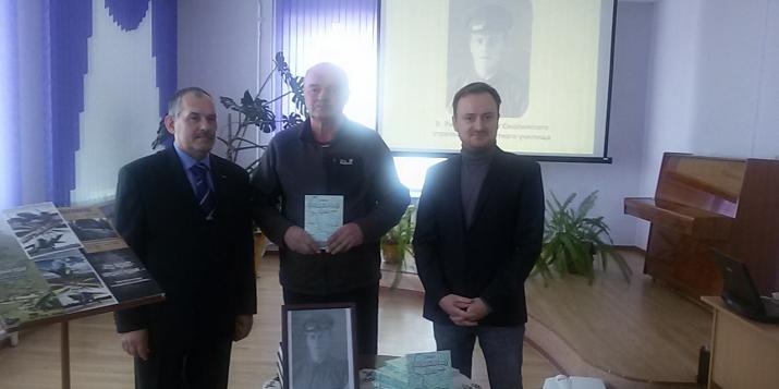 У Пружанскай цэнтральнай раённай бібліятэцы прэзентавалі кнігу В.І.Рыгіна «1060 дней в тылу врага»