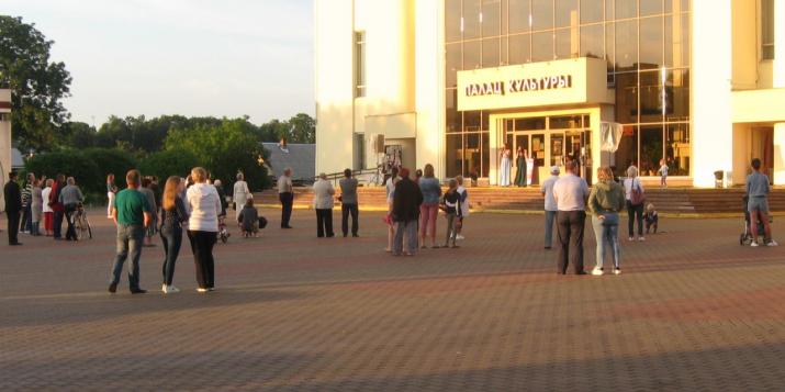 Фоторепортаж с концерта в честь Дня города Пружаны 17.07.2020г.
