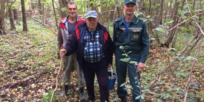 В Пружанском районе заблудился грибник: понадобилась помощь спасателей.