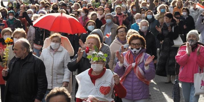 Вчера в Минске на протест вышли пенсионеры: Мы хотим исправить ошибку, которую допустили 26лет назад