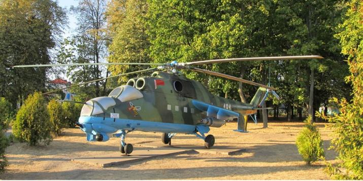 1.12.2015г. завершилось расформирование 181-й боевой вертолётной авиационной базы (аэродром Пружаны)
