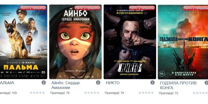 """Что сегодня и завтра будут показывать в пружанском кинотеатре """"Спутник"""""""