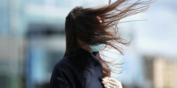 На Западе Беларуси сегодня сильный ветер. 12:47 Пружаны. Ветер З-Ю-З, 10 м/с, порыв 15 м/с.