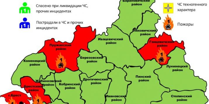 Вчера в Плебанцах горел жилой дом