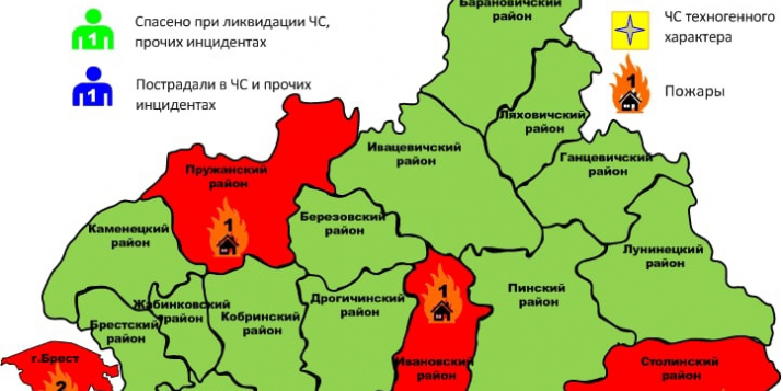 В сооружении, которое принадлежит ОАО «Ружаны-агро», произошёл пожар. Подробности: