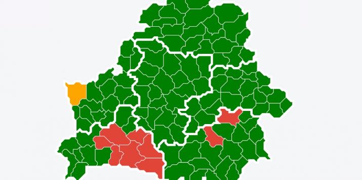 С сегодняшнего дня(28.06.2021г.) снят запрет на посещение лесов в Пружанском районе