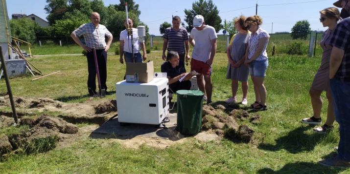 В рамках проекта международной технической помощи ПРООН-ГЭФ для Пружан закуплен французский лидар
