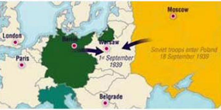 82 гады таму, 1 верасня 1939 года, пачалася Другая Сусветная Вайна