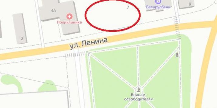 Ружанский сельский исполнительный комитет ищет инвестора для создания рынка в г.п. Ружаны
