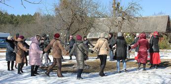 На аграсядзібе «Стулы» ў Пружанскім раёне завяршыўся пленэр «Саракі» і прайшло «Гуканне вясны»