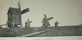 Пружаны — Ветряные мельницы. 1917 год.