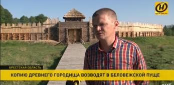 Копию древнего городища строят в Беловежской пуще: первых посетителей музей примет в этом году.