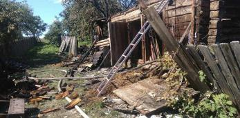 Пружанский РОЧС: за прошедшую неделю в районе произошло 2 пожара