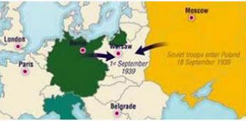 79 гадоў таму, 1 верасня 1939 года, пачалася Другая Сусветная Вайна