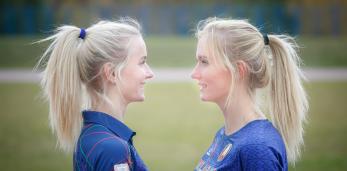 Близняшки, родившиеся в Сухополе, и выросшие в Пружанах, — о спортивной ходьбе и рекорде Европы