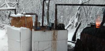 На самогоноварении попался 49-летний житель Пружанского района, причём не в первый раз