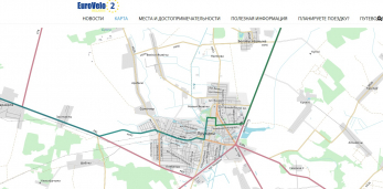 Веломаршрут EuroVelo-2 прошёл через Дублин, Лондон, Берлин, Варшаву, ПРУЖАНЫ, Минск, Москву.Поехали?