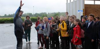 В рамках Дней энергии школьники посетили Пружанскую ТЭЦ