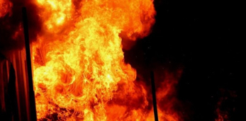 Вчера в Пружанах горел дом