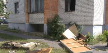 На пожаре в Пружанах спасено и эвакуировано семь человек