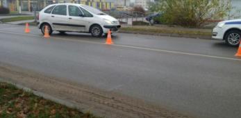 В Пружанах  пострадала девочка-пешеход