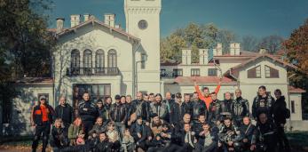 Крутой репортаж о базе мотоциклетного сообщества «Motorcyclescommynity Р98» в Пружанском районе
