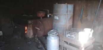 В Пружанском районе изъят мини-завод по производству самогона