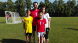 26 мая в Пружанах прошёл футбольный фестиваль «Мама, папа, я — футбольная семья!»