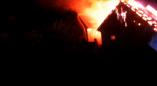 Сотрудники РОЧС ликвидировали пожар на улице Беловежской
