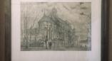 У музеі Ружанскага палацу адчынілася выстава графічных работ ураджэнца Ружанаў Аляксандра Кунцэвіча.