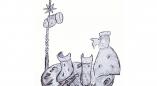 В Беловежской пуще установят первый в мире памятник Новому году. Как вам эскиз?