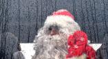 Волшебство не сработало: памятник Новому году в поместье Деда Мороза в пуще открывали под дождем