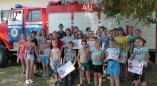 Акция «Каникулы без дыма и огня» в оздоровительных лагерях Пружанщины. Фоторепортаж