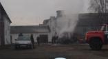 12.11.2019 г. в 17:09. в д. Арабники Пружанского района произошел пожар во фронтальном погрузчике