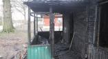 В результате пожара в Вощиничах многодетная  семья осталась без дома