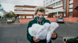 """Медики из Пружан благодарят ещё одно движение """"covid_19_brest"""" за привезённые средства защиты"""